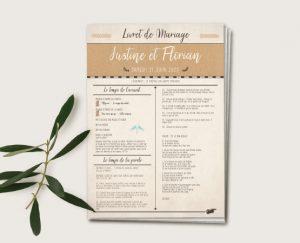 etiquette mariage