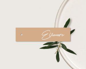 marque place original inspiration décoration mariage automne