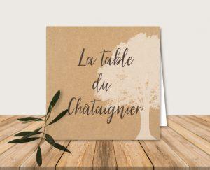 nom de table mariage champetre chic