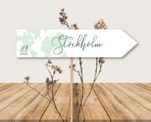 panneau nom de tables mariage couronne de fleurs