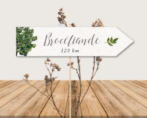 inspiration mariage thème bois arbre et papier recyclé éco-responsable