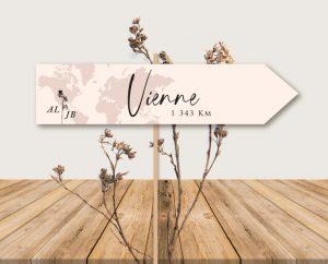 papeterie mariage chic fleur minimaliste