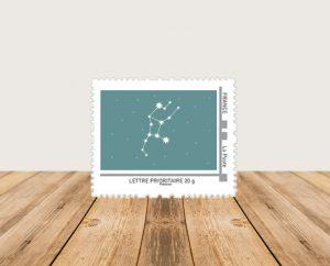 faire part naissance mixte constellation et étoiles