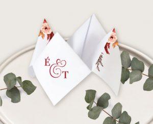 faire part mariage automne chic raffiné élégant