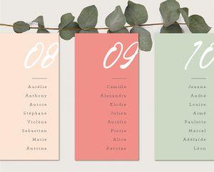 inspiration mariage moderne chic rose et fleurs aquarelle