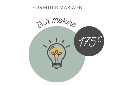 création faire-part mariage sur-mesure original illustration