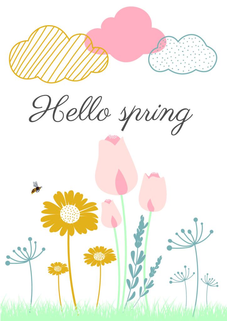 Hello printemps