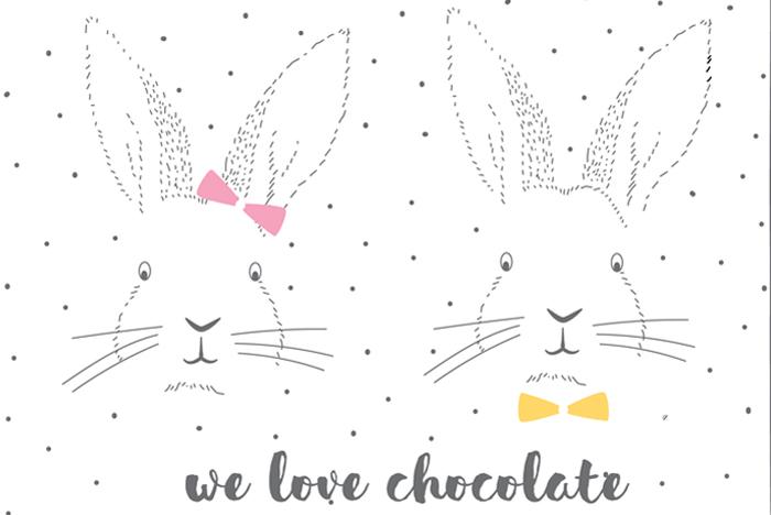 carte-paques-lapin-chocolat