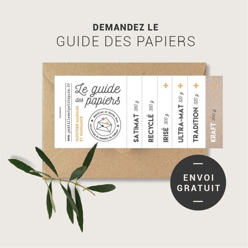 guide des papiers faire part nantes atelier d'impression de qualité