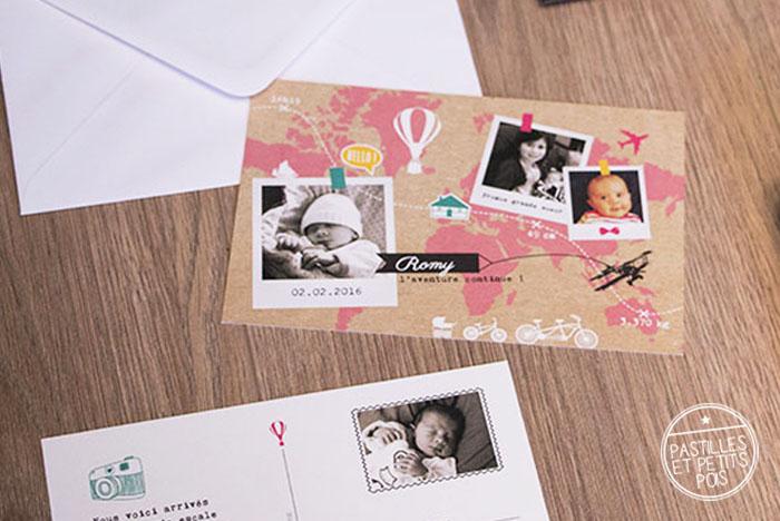 faire-part-bebe-voyage-carte-postale-polaroid-rose