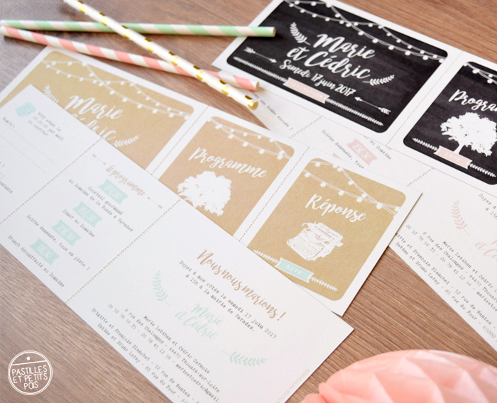 faire-part-mariage-ticket-kraft-nature-champetre