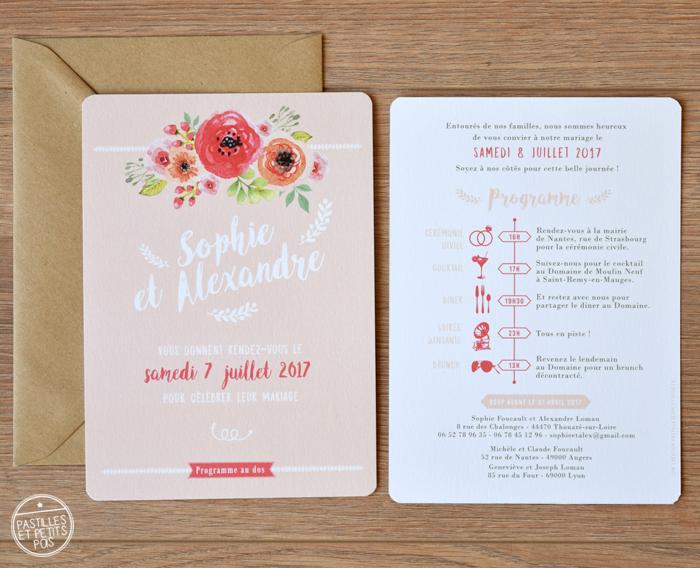 faire-part-rose-fleurs-aquarelle1