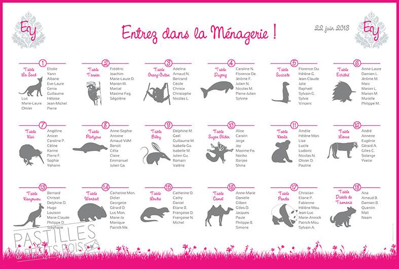 plan-tables-mariage-theme-animaux-australie - Copie